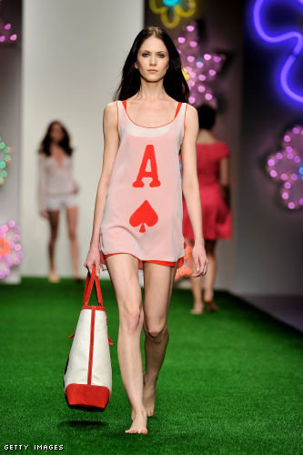 Jasper Conran London Fashion Week fashion show catwalk report Spring Summer 2013