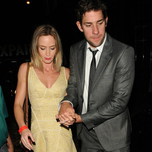 Emily Blunt at Stanley Tucci's Wedding | Pictures