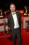 Aaron Paul celebrated his big win after the Emmys.