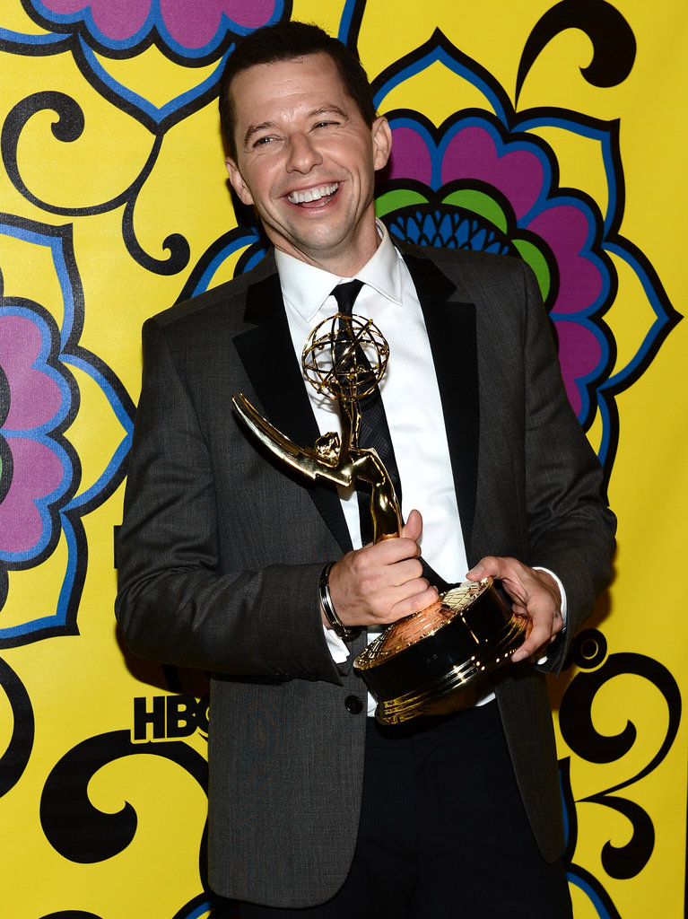 Jon Cryer was smiling ear to ear at the HBO party.