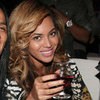 Beyonce Pictures in Leopard Print Roberto Cavalli Dress at NYC Party With Jay-Z