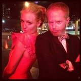 Cat Deeley and Jesse Tyler Ferguson hung out together after the Emmys. Source: Instagram user jessetyler
