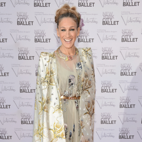 Sarah Jessica Parker Recounts her favourite Valentino moments at the 2012 NYC Ballet Gala: