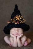 Halloween Baby Hat