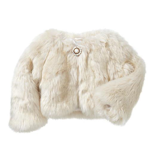 Gap Faux-Fur Shrug