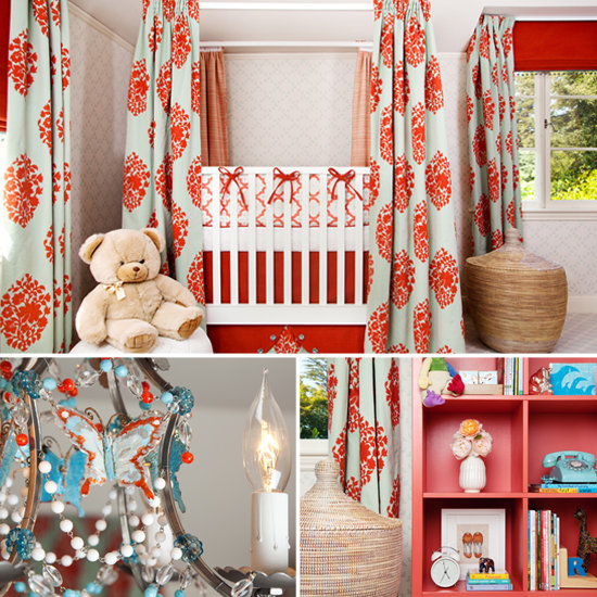 A Fab, Fabric-Draped Nursery Inspires Design Envy