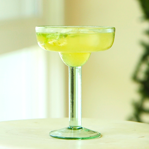 Green Tea and Basil Margarita Recipe