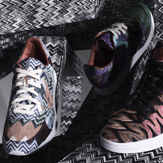 Missoni and Converse Collaborate on One-of-a-Kind Shoes