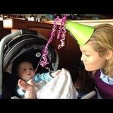 Erika Christensen spent time with her baby cousin. Source: Instagram user erikachristensen