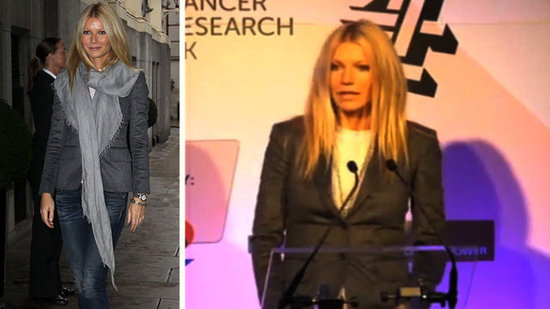 Video: Gwyneth Paltrow Gives a Heartfelt Speech About Her Dad