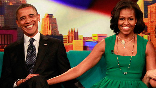 The Obamas Dish on Their First Kiss