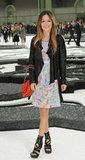 Rachel Bilson attended the Chanel fashion show during Paris Fashion Week in October 2010.