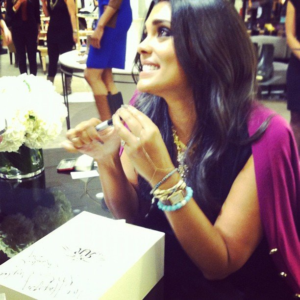 Rachel Roy signed autographs for fans at Nordstrom. Source: Instagram user amyrapawy