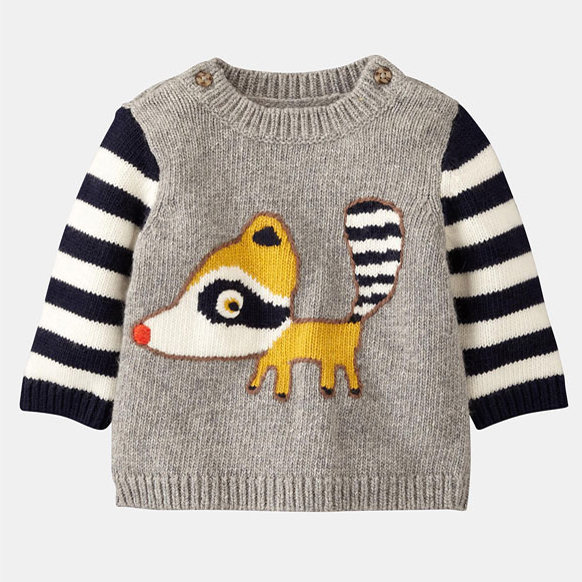 Mini Boden Logo Sweater