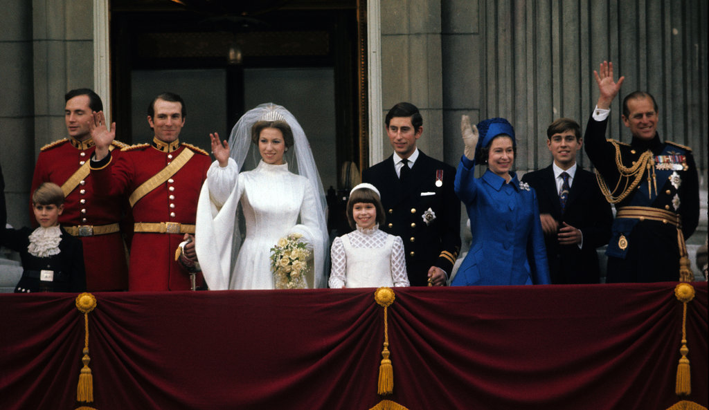 Princess Anne and Mark Phillips The Bride: Princess Anne, Queen Elizabeth's only daughter. The Groom: Mark Phillips, an Olympic horseman and successful military man. When: Nov. 14, 1973. They had two children, Peter and Zara, and divorced in 1992. Where: Westminster Abbey.