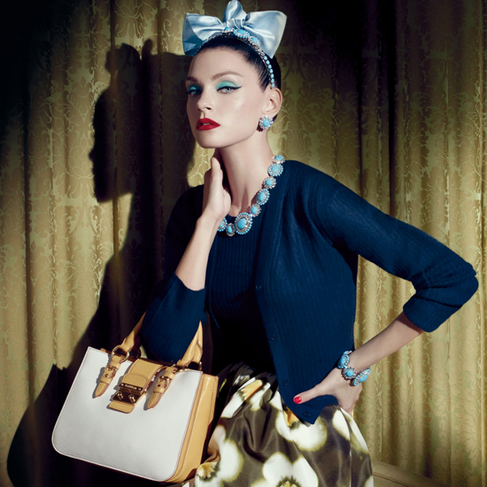 Miu Miu Taps Modeling Powerhouses For Resort 2013 Campaign