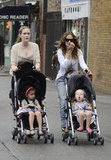 Sarah Jessica Parker took the twins out for a stroll.