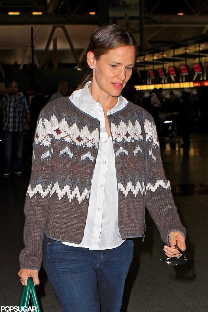 "Jennifer Garner Travels to NYC and Talks ""Sweet, Mellow"" Samuel"