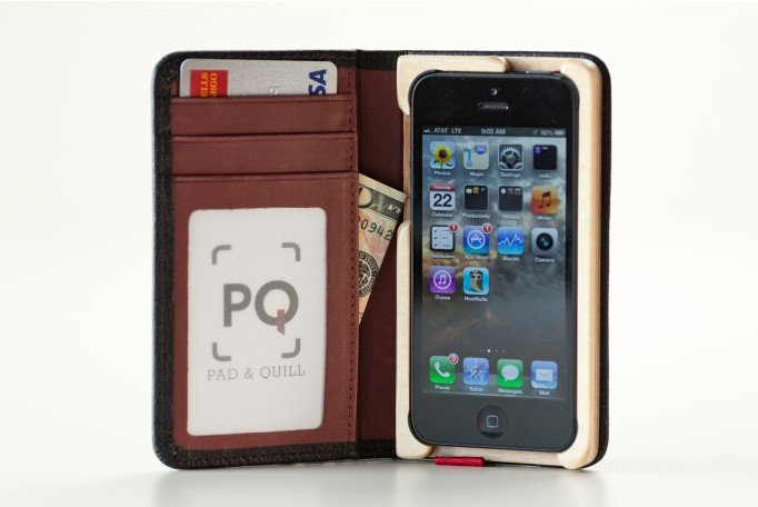 Pad & Quill iPhone 5 Pocket Book ($55)