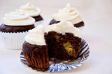 Chocolate Banana Cupcakes With Yogurt Frosting