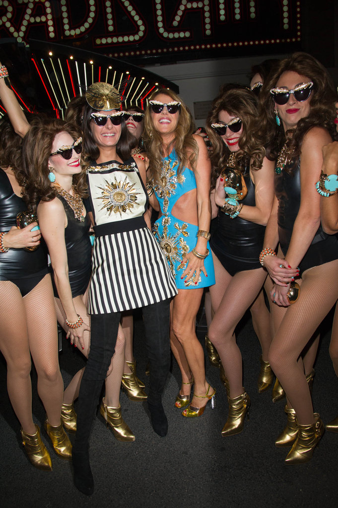Anna Dello Russo For H&M Launch Party