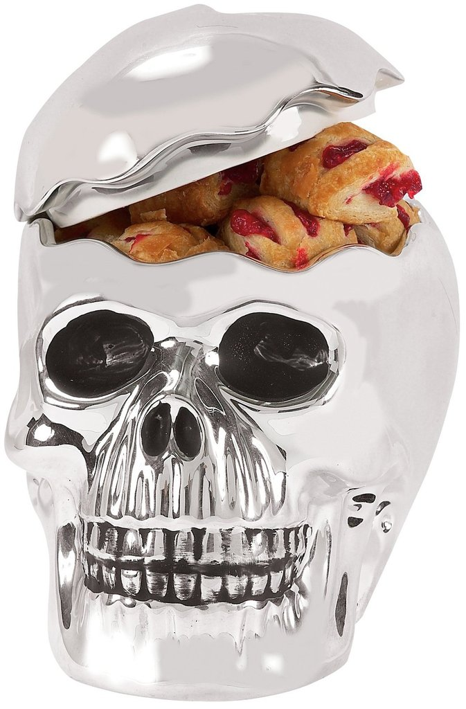 Skull Cookie Jar