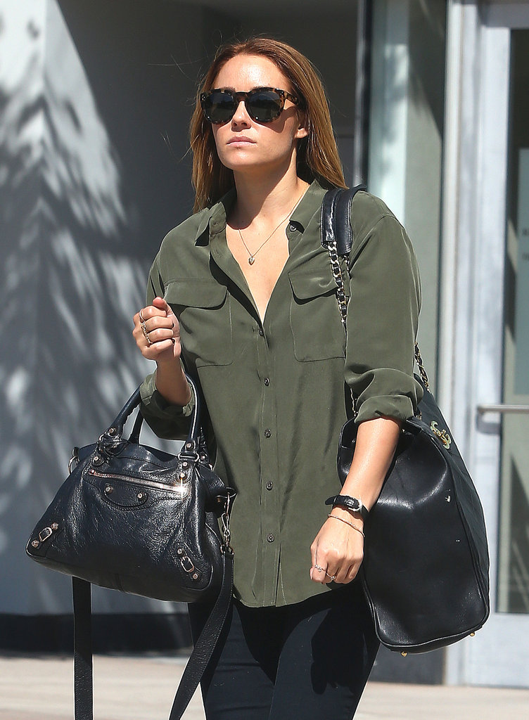 Lauren Conrad stepped out in LA.