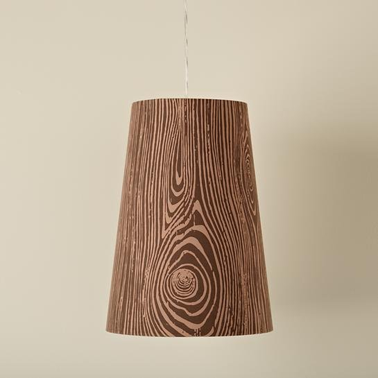 Hangin' Around Woodgrain Pendant Lighting