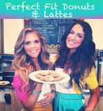 Healthy Donut Recipe and Lattes
