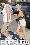Liam Hemsworth Breaks From Hunger Games For PDA With Miley Cyrus