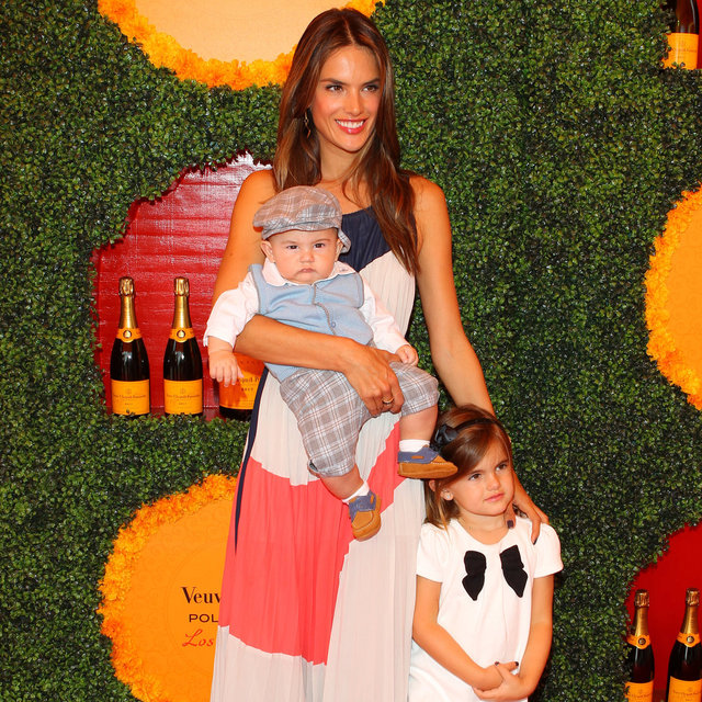 LA Veuve Clicquot Polo Classic Celebrity and Celebrity Babies Pictures