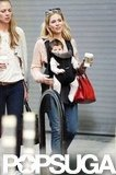 Sienna Miller and Adorable Baby Marlowe Explore NYC!