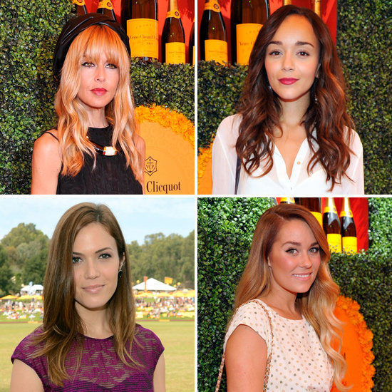 Natural Beauty Is The Look Du Jour At Polo Classic