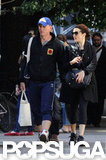 Daniel Craig and Rachel Weisz Get in Shape For a Busy, Bond-Filled Fall