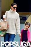 Suri Cruise and Katie Holmes got treats.