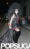Heidi Klum was over the top in a wig and fishnets for her annual party in NYC in 2005.