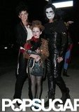 Kate Beckinsale, Len Wiseman, and her daughter, Lily, got in the Halloween spirit around LA in 2009.