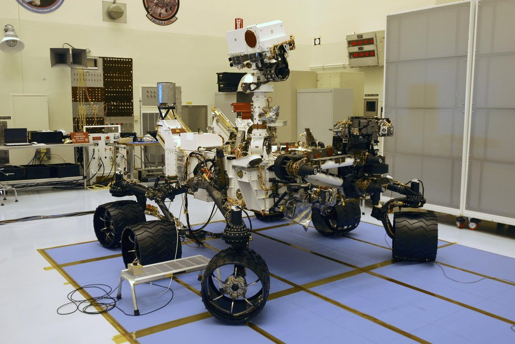 NASA Previews Curiosity
