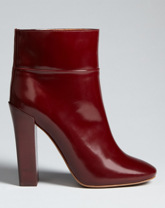 Hands down, the perfect pair of Fall boots. These Chloé High Heel Stacey Ankle Boots ($795) make you want to forget black shoes even existed. — Chi Diem Chau, associate editor