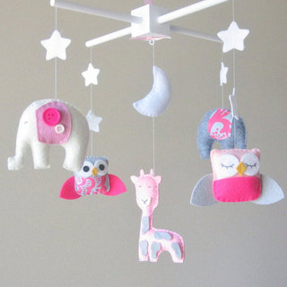 Baby Mobiles For Girls