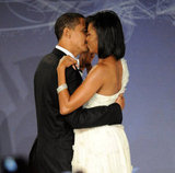 The new first couple were so sweet during an inauguration ball.
