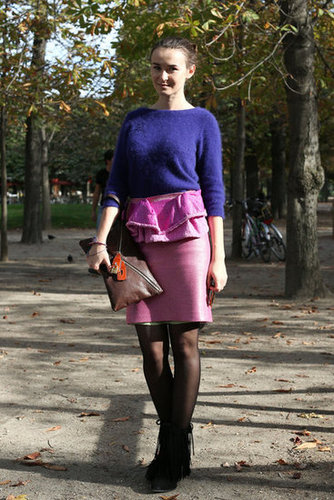 Paris Fashion Week Street Style Spring 2013