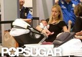Kristin Cavallari carried Camden Cutler through security.