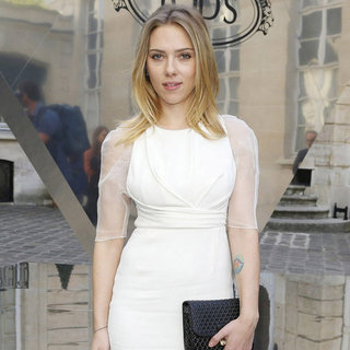 Scarlett Johansson at Tod's Party at Paris Fashion Week