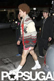 Matthew Morrison went as Richard Simmons in LA in 2010.
