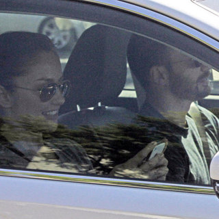 Chris Evans Driving Minka Kelly in LA | Pictures