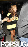 Beyoncé Knowles covered her baby bump in a bee costume for an NYC Halloween in 2011.