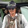 Johnny Depp at Comanche Native American Fair | Pictures