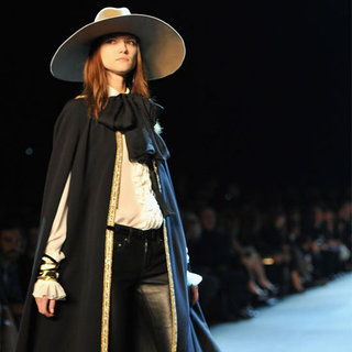 Pictures and Review of Saint Laurent Spring Summer Paris Fashion Week Runway Show