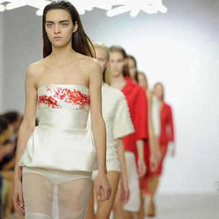 Pictures and Review of Giambattista Valli Spring Summer Paris Fashion Week Runway Show